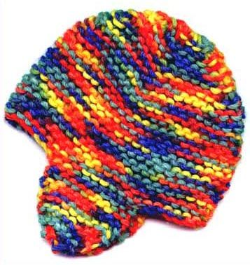 Free Knitting Pattern For Ear Flap Hat For Preemies | Baby ...