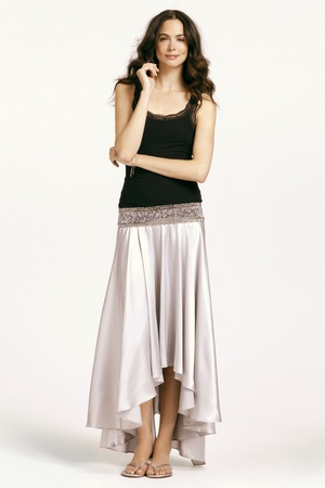 The perfect skirt for a sunset soiree!