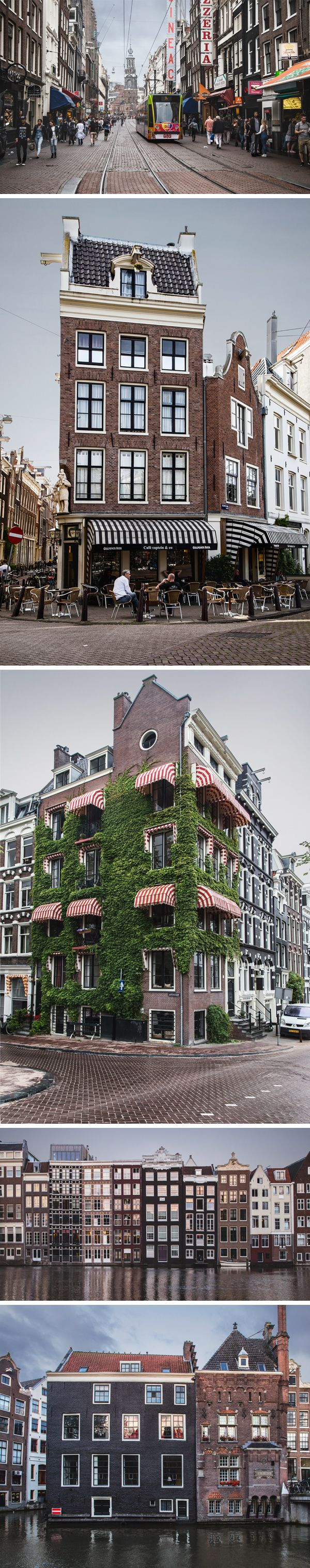 Today's special is a new set of photos I took while traveling, this one features 5 urban images from Amsterdam...