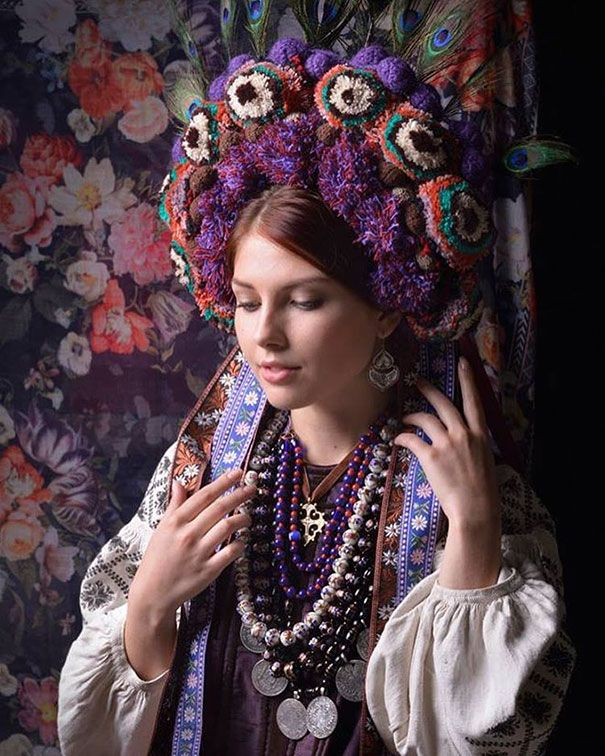 Modern Women Wearing Traditional Ukrainian Crowns Give New Meaning To Ancient Tradition