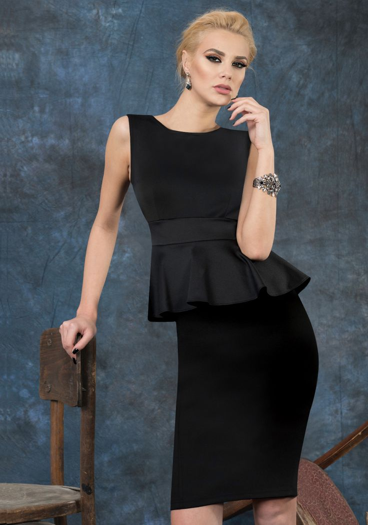 Choose this little black dress for all the occasions when you'll need a stylish outfit.