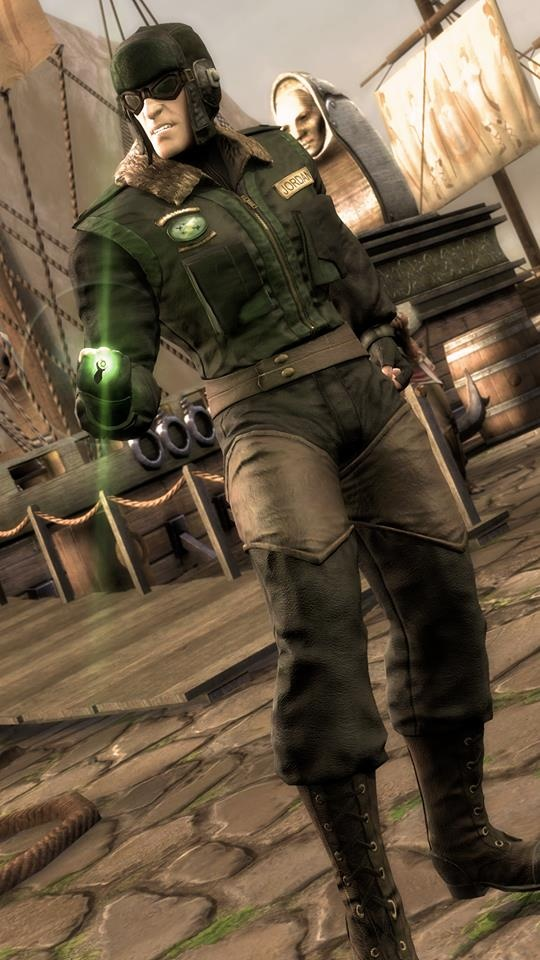 Green Lantern Red Son Available via Download of Red Son
