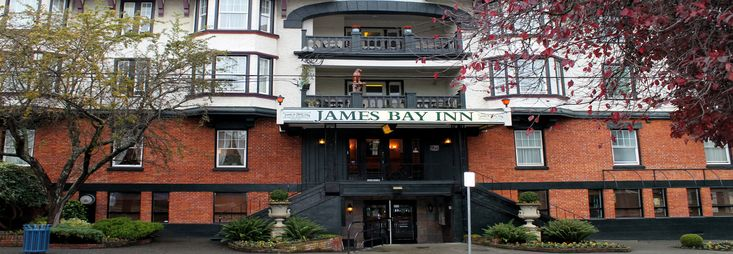 James Bay Inn | Historic downtown Victoria hotel accommodation!