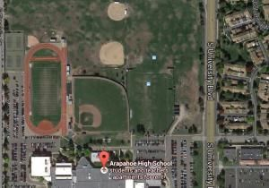 A Centennial, Colo. high school is on lockdown because of an active shooter situation in the school, police tell KUSA-TV. At least two people have been injured in the shooting at Arapahoe High School Friday afternoon.  About 2,200 students attend the school in the Denver metropolitan area.