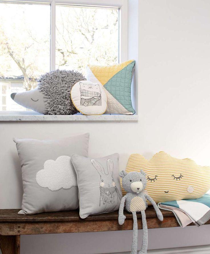 Cushion - Yellow Cloud - New Arrivals - Mamas & Papas