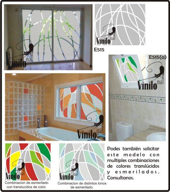 Vinilos decorativos esmerilados para vidrios 215 00 en - Vinilos cristales cocina ...
