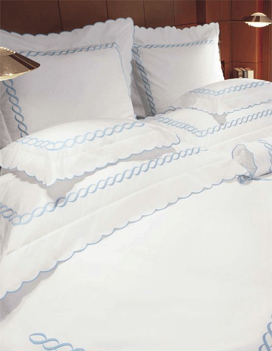 Pratesi - purveyor of the highest quality Italian bedding