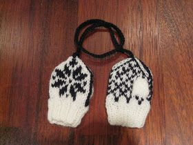 Patterns By MirreVirre: Tiny Selbumittens