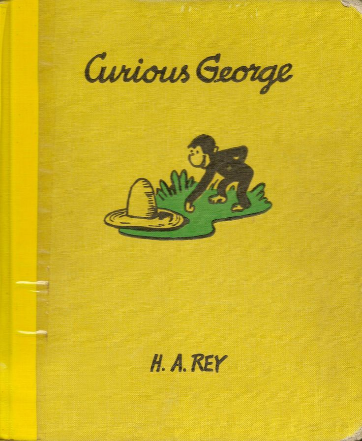 AUTHOR, COVER, ILLUSTRATOR: H. A Rey. PUBLISHER: Houghton Mifflin Company, Boston. YEAR: 1969 (27th printing!).