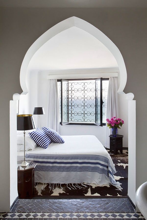 Airy Moroccan Bedroom The Moroccan style