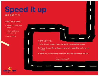 Speeed it up from BrightNRite from BrightNRite on TeachersNotebook.com (1 page)  - Speed it up is a simple creative addition to an age old game of racing cars. create a simple route or add bumps and slopes for a challenge and race down with a friend.
