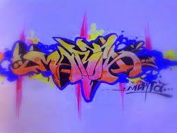 Resultado de imagen para graffitis de nombres
