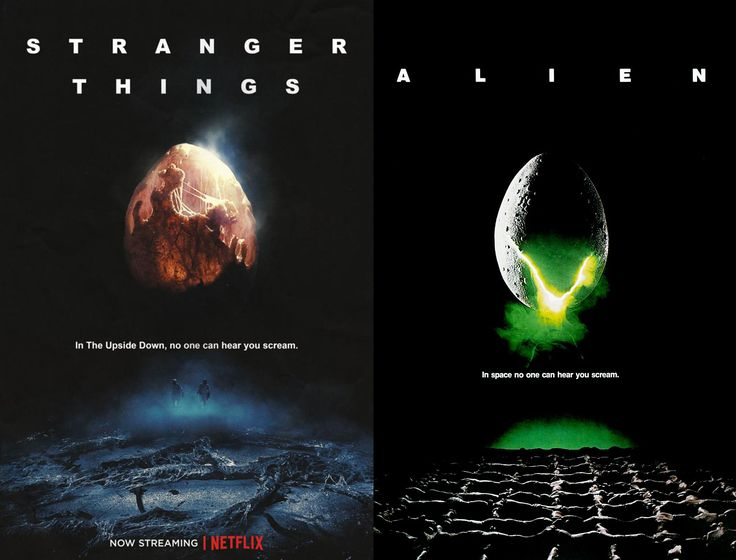 Netflix pays tribute to classic 80s cinema with cult series' poster designs.