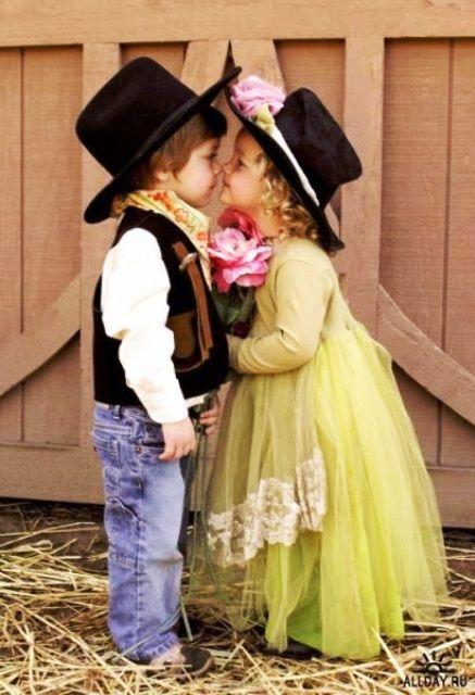 Little Cowboy Amp Cowgirl Toni Kami B 233 B 233 Sweet