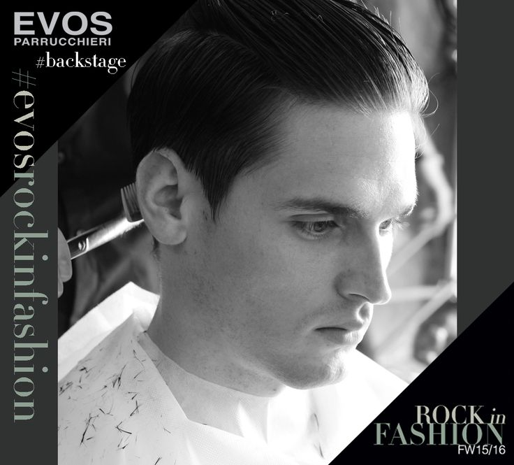 #EVOSROCKINFASHION  #UOMO --- scatti rubati nel #backstage della nuova collezione  @EVOS_italia I   https://www.facebook.com/evos.parrucchieri