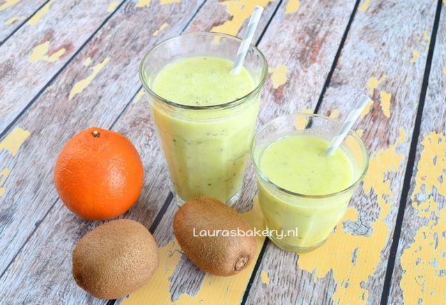 Sinaasappel-kiwi smoothie | Laura's Bakery | Bloglovin'