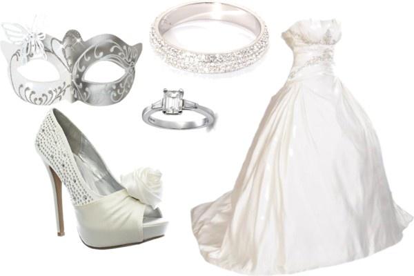 """Lets Have a Masqurade Wedding"" by darian-nobriga on Polyvore"