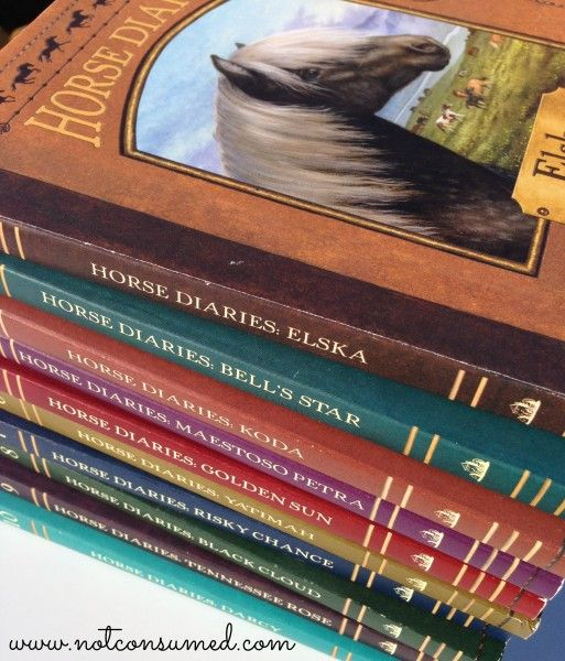 Horse diaries: a great set of historical fiction books for young horse lovers!