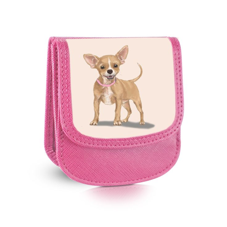 Chihuahua Taxi Wallet - Faux Leather