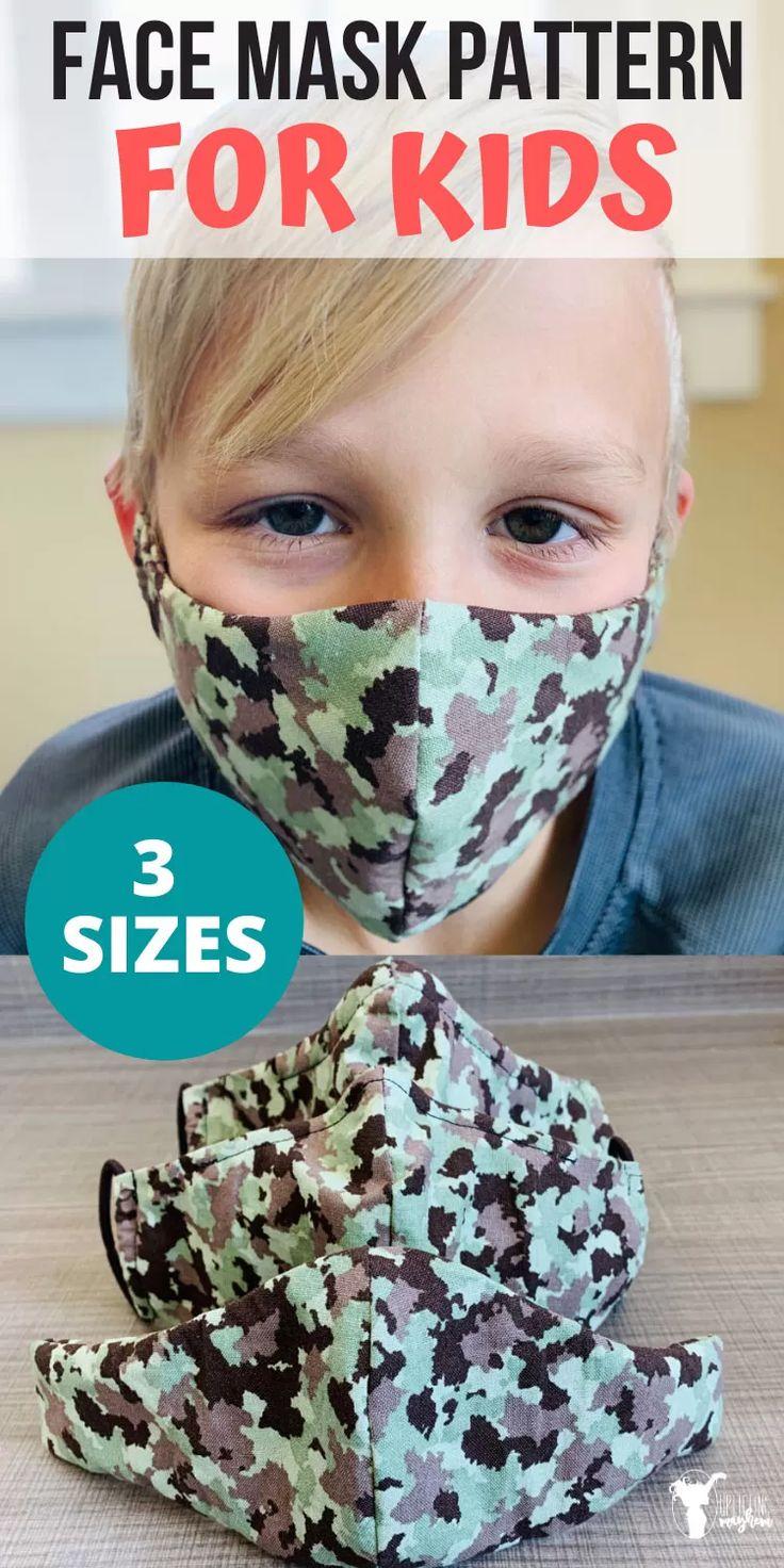 Diy face mask pattern for kids uplifting mayhem in 2020