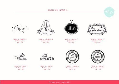 Project party studio » sellos personalizados