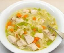 Chicken and vegetable soup