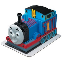 How to Make a 3D Thomas the Train Cake!--had to post it, I'll never be that amazing