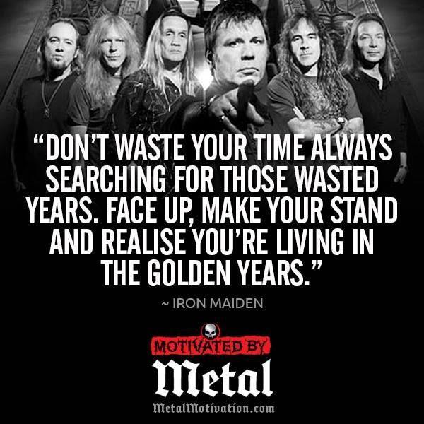 Iron Maiden Lyrics / Wasted Years