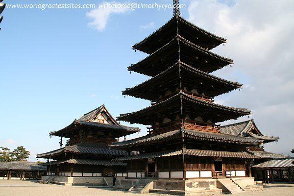 Buddhist Monuments in the Horyu-ji Area, Nara Prefecture, Japan. Inscription in 1993. Criteria: (i)(ii)(iv)(vi)