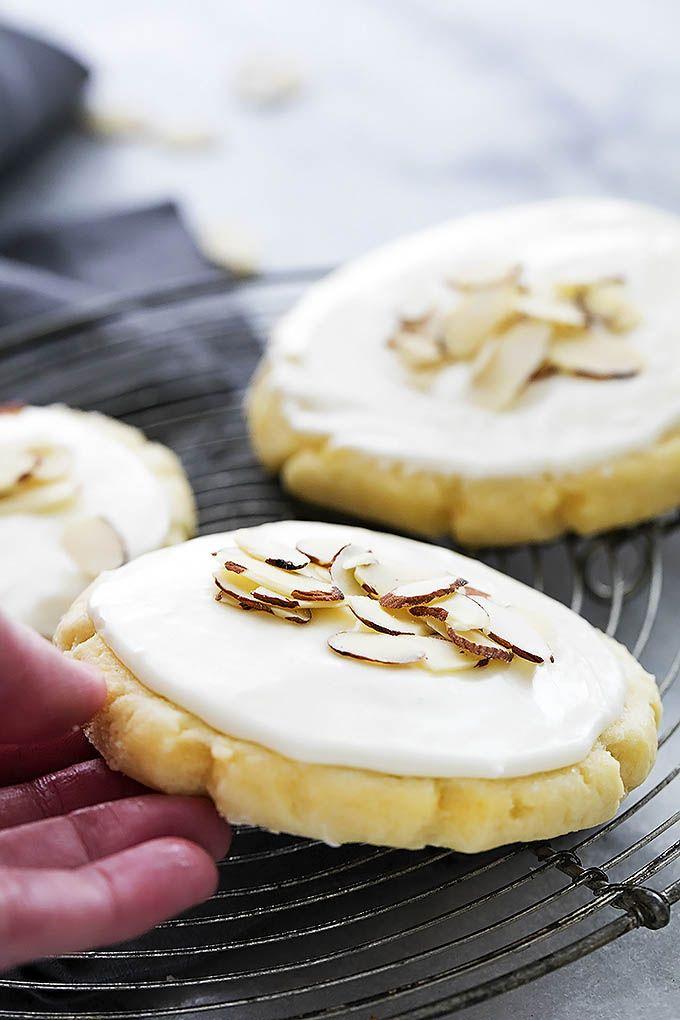 Almond Sugar Cookies (+ video)