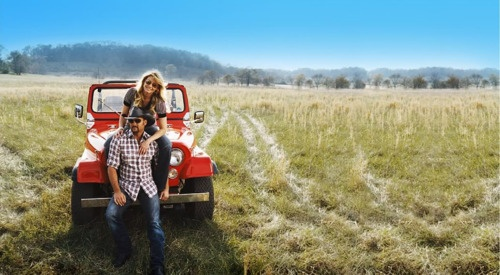 one day i will have a picture like this because my future BF must drive a Jeep! ;)