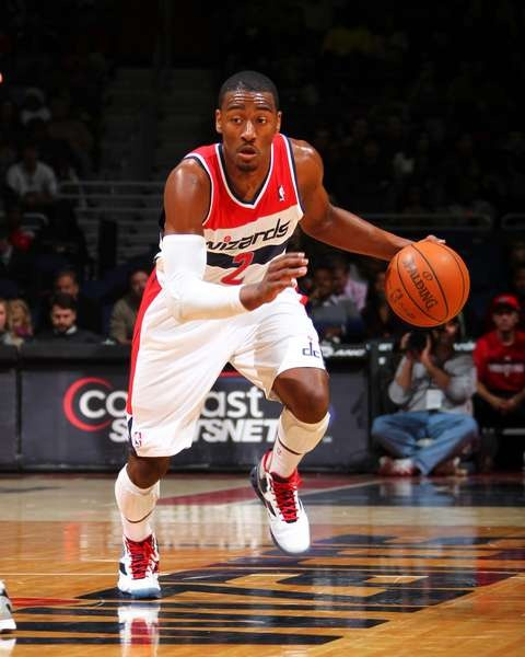 John Wall sporting his new jersey | Sports | Pinterest ...