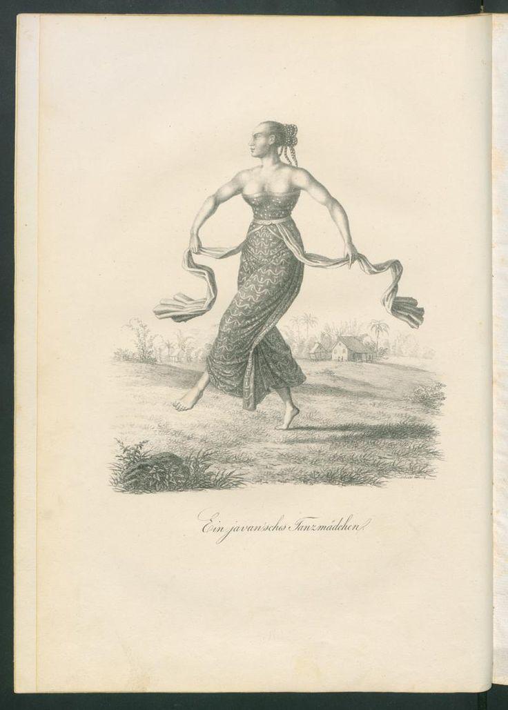 Skizzen von der Insel Java und den verschiedenen Bewohnern derselben; Rar 9185