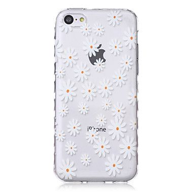 bloempatroon+golven+slip+handvat+TPU+soft+phone+case+voor+de+iPhone+5+quater+–+EUR+€+3.91