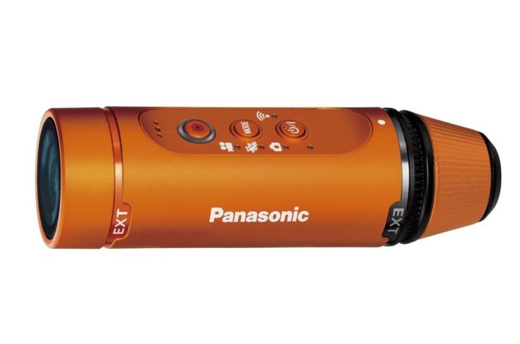 Official Panasonic HX-A1H-D wearable waterproof camera Orange from Japan *New - http://cameras.goshoppins.com/camcorders/official-panasonic-hx-a1h-d-wearable-waterproof-camera-orange-from-japan-new/