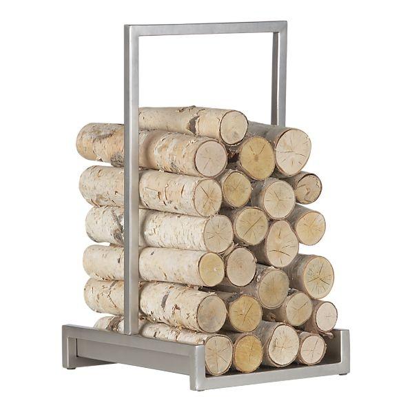 Fireplace Log Holder Classic Decorative Firewood Rack