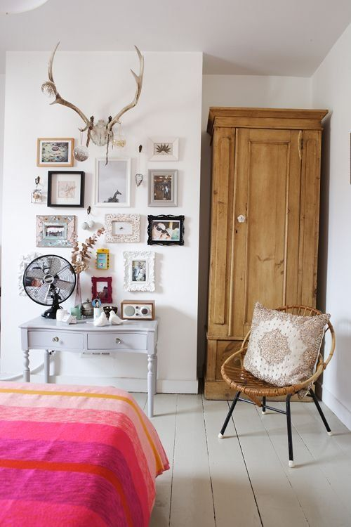 Eclectic Wall Decor Ideas : Eclectic gallery wall home