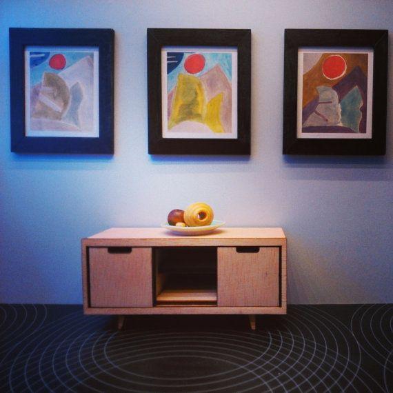 Dollhouse Miniatures Tv: 17 Best Images About Miniature