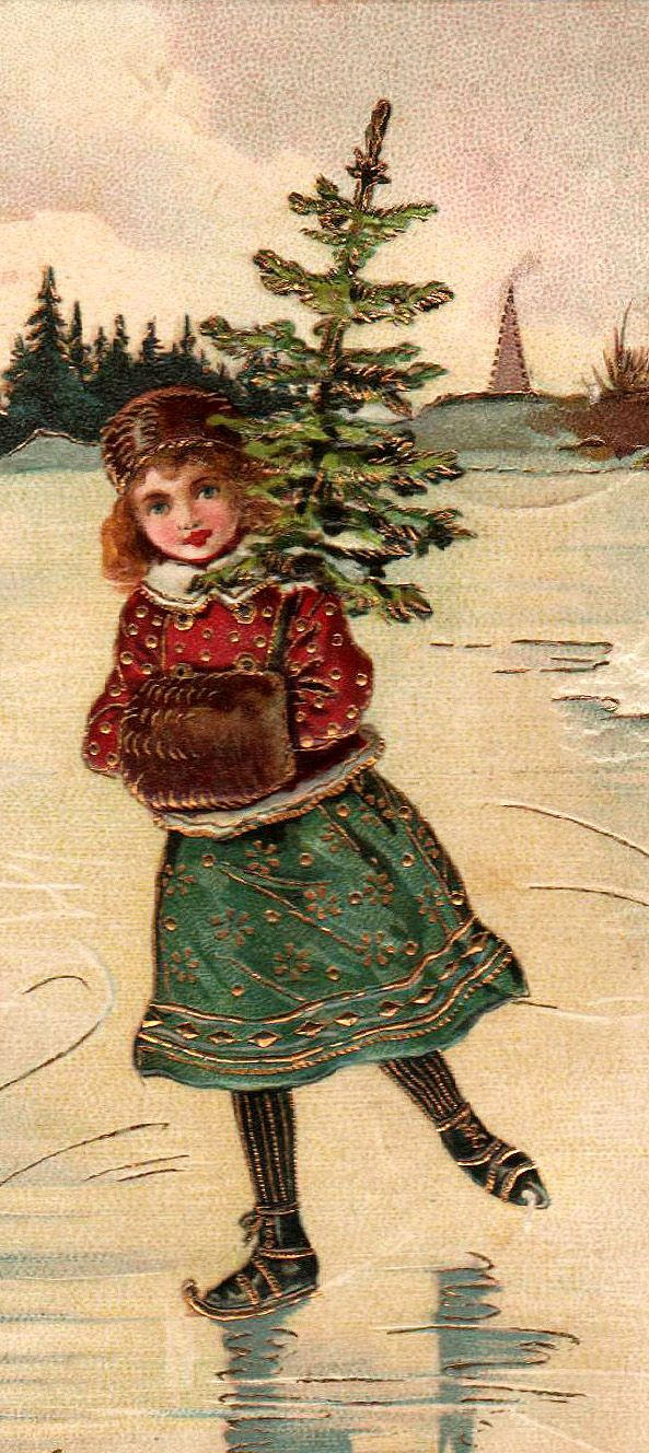 Lucky are those of us who recall frozen ponds, well-worn skates, and the fragrance of  fresh trees.