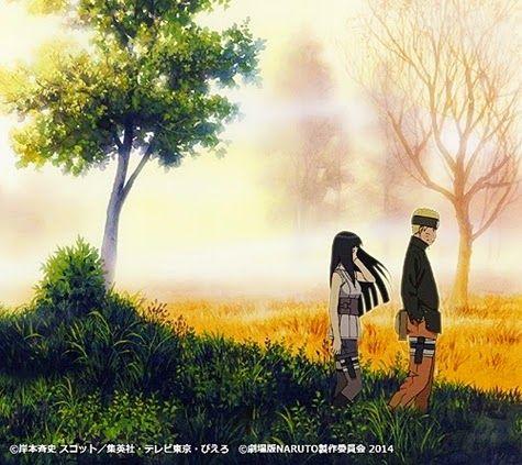 Naruto Shippuden Movie: The Last Official Artwork - Uzumaki Naruto Hinata Hyuga - Hoshi No Utsuwa Lyrics - Sukima Switch