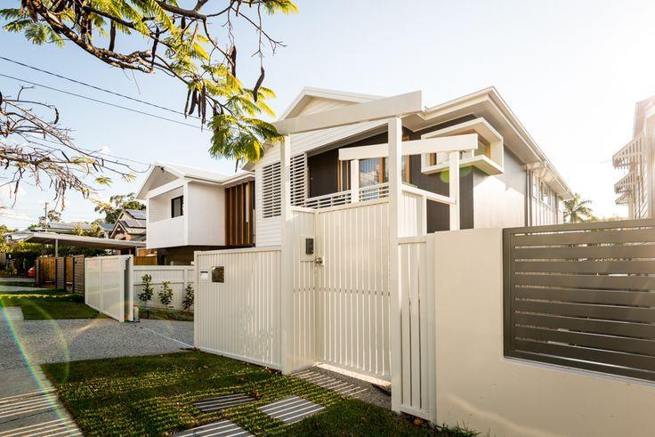 A stunning kalka facade in the Grange, Brisbane.