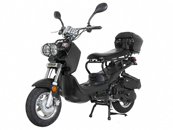 NEW Sunny Powersports MC-D150L BLACK Gas Ruckus 150cc Moped Scooter w/ Trunk , $1399