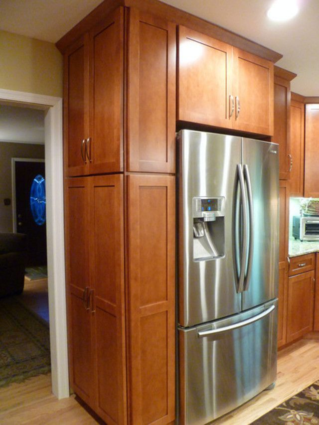 End Of Fridge Cabinet Appliances Pinterest Shelves Pantry And End Of