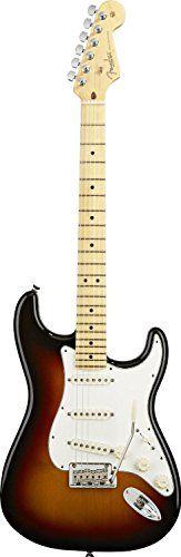 Fender American Standard Stratocaster, Maple Fingerboard – Three-Tone Sunburst