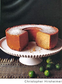 Indonesia Spice Cake - I don't know what that means, but it looks delicious!