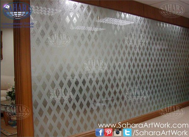 Best Glass Partition Sandblasted Frosted And Crystal Clear