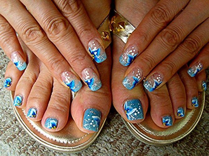 Нейл-арт МаникюрЪ .рф - Маникюр в домашних условиях: дизайн ногтей, наращивание, рисунки