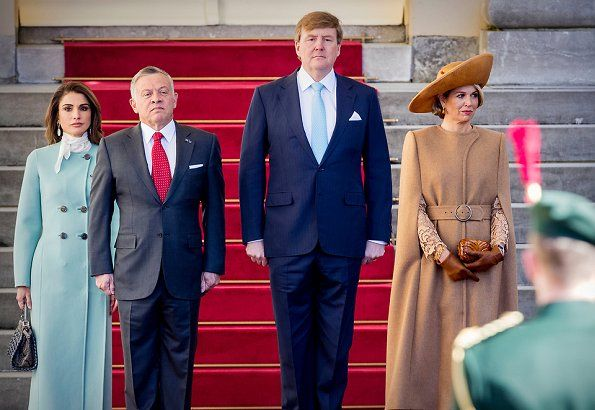 King Abdullah's and Queen Rania's state visit to The Netherlands