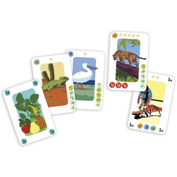 Animazoo-taktikai kártyajáték (Djeco)   Pandatanoda.hu Játék webáruház