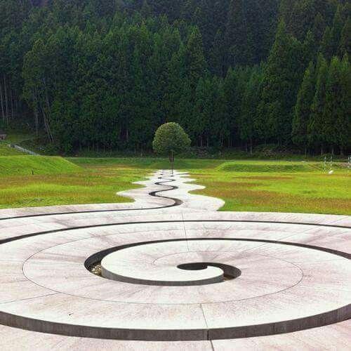 Murou Art Forest Design by Dani Karavan.